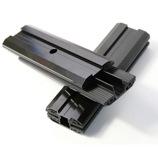 Solar black thin film clamp